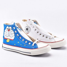 Converse x Doraemon 1970s High Tops Cartoon Shoes