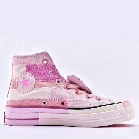 Converse x Golf Le Fleur Chenille Chuck 70 Pink High Top