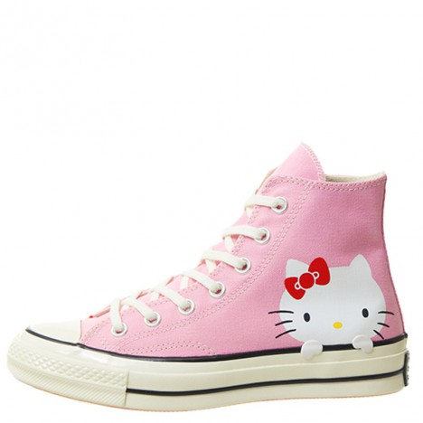 Converse x Hello Kitty 70s Pink Womens Shoes High