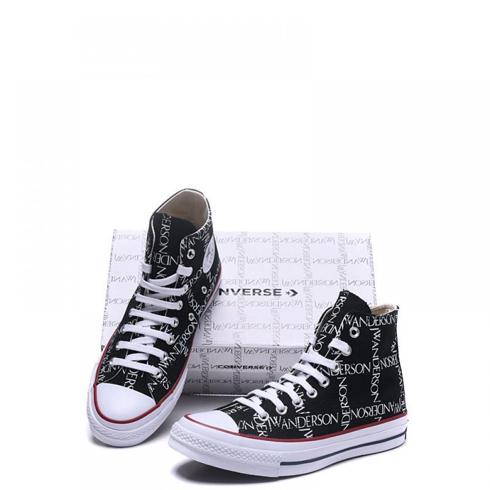91da9249510 Converse x JW Anderson Chuck 70 Grid High Top Black