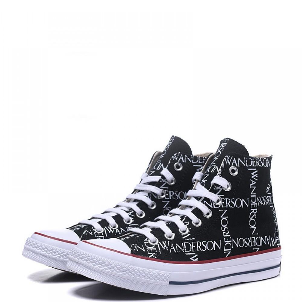 8a65c2b2c799 Converse x JW Anderson Chuck 70 Grid High Top Black