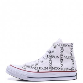 Converse x JW Anderson Chuck 70 Grid High Top White