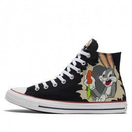 Converse x Looney Tunes Chuck Taylor All Star High Bugs Bunny Black