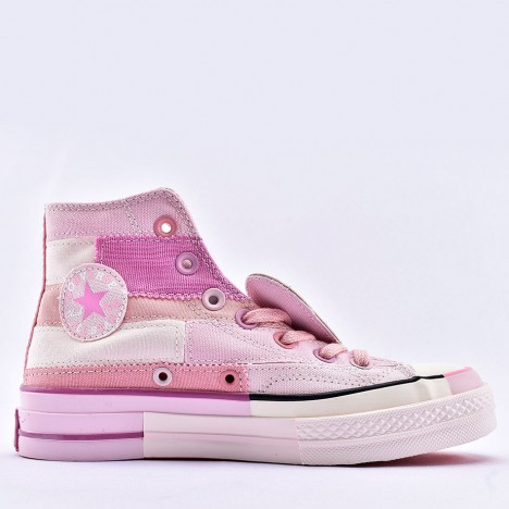 Converse x Millie Bobby Brown Chuck 70 High Pink for Women