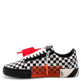 Converse x Off-White Virgil Abloh Vulc Checkerboard Low Tops