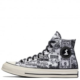 Converse x Suicidal Tendencies Chuck 70 Graffiti High Top