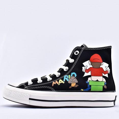 Converse x Super Mario Bros Chuck Taylor High Top Black
