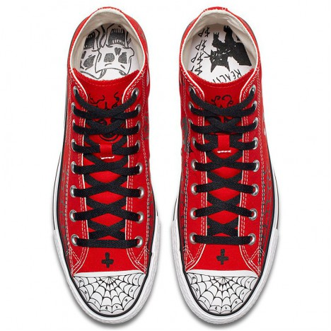 Converse x Supreme Team Sean Pablo CTAS Pro High Top Red