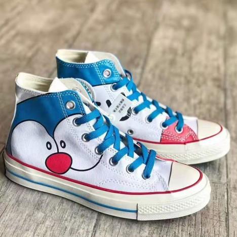 Doraemon x Converse 1970s High Tops Blue White