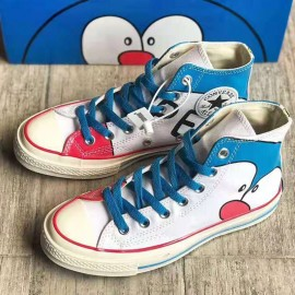 Doraemon x Converse 1970s High Tops Blue White