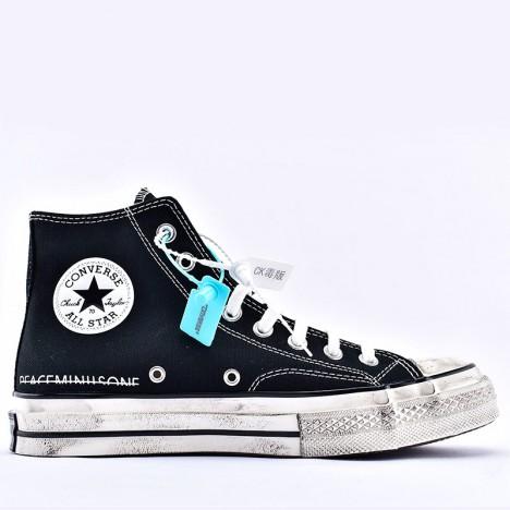 G-Dragon Peaceminusone x Converse Chuck 70 Black High