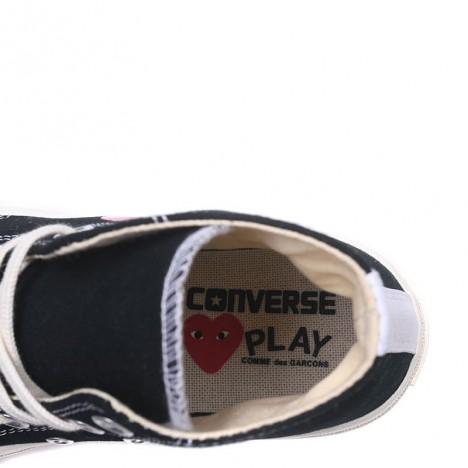 Garcons Play x Converse Chuck Taylor All Star 70 High Top Black