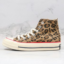 Givenchy X Converse Chuck Taylor 1970s High Leopard Print Sneaker