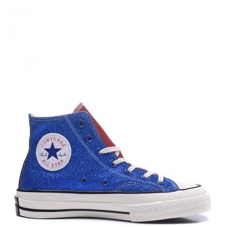 J.W. Anderson x Converse Glitter Chuck 70s High Top Green Blue