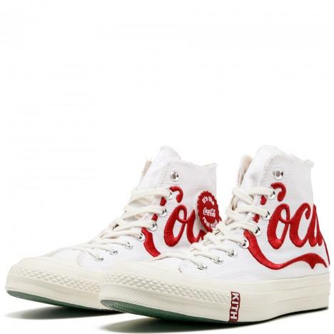 Kith x Coca-Cola x Converse Chuck Taylor All Star High White High