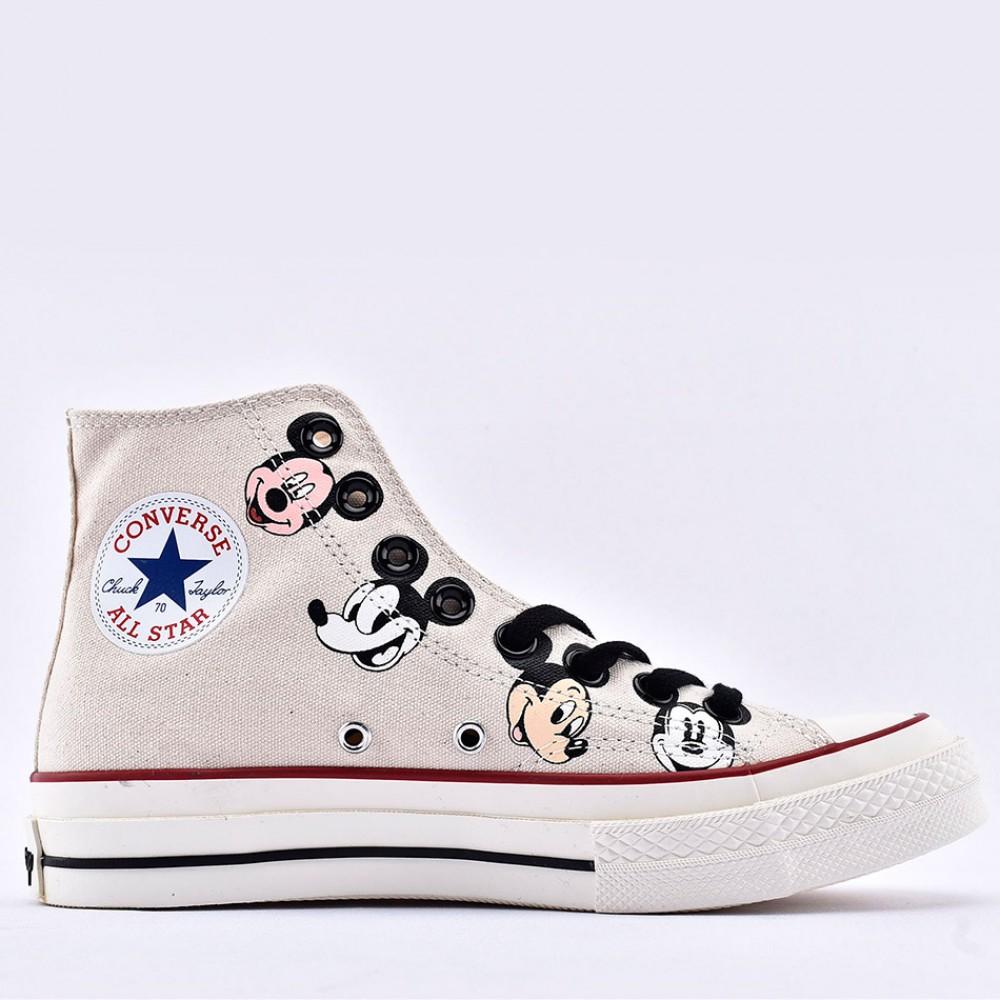 Kith x Disney x Converse Chuck 70 Mickey Mouse Portrait High Top