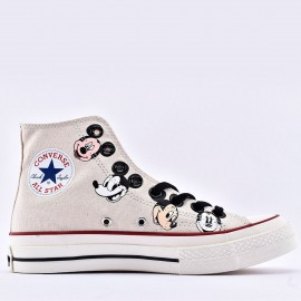Kith x Disney x Converse Chuck 70 Mickey Mouse Portrait High Top