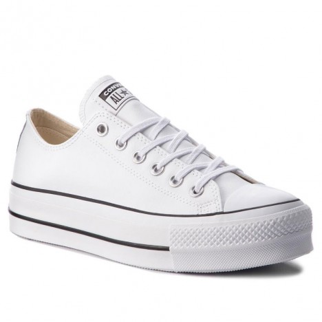 Low Womens Converse Chuck Taylor All Star Platform Clean Leather