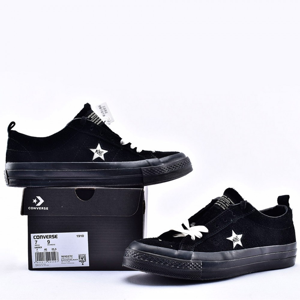 Madness x Converse One Star Black Suede