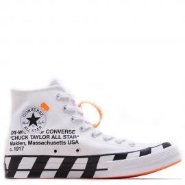 Off-White x Converse Chuck Taylor 70 High Optical White