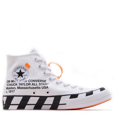 Off-White x Converse Chuck Taylor 70 High Optical White