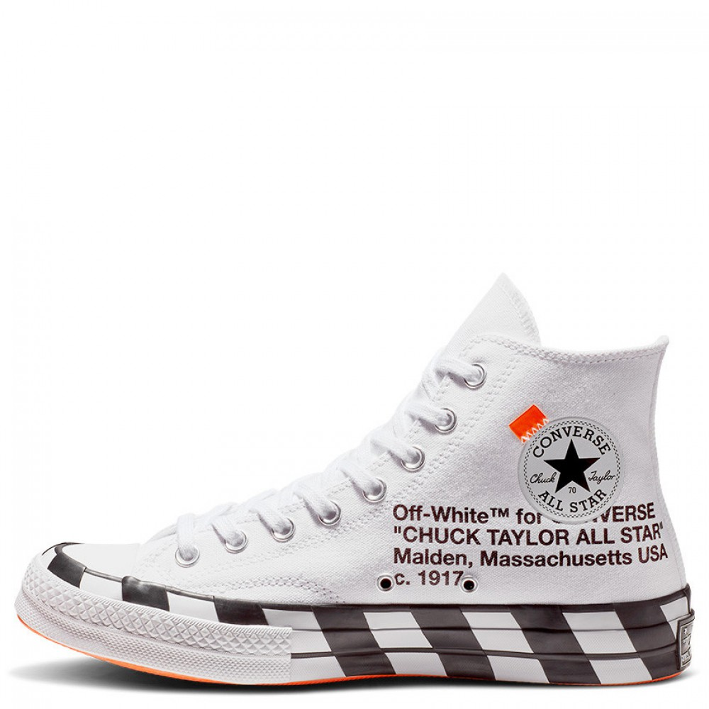 f45fda149495da Off-White x Converse Chuck Taylor 70 High Optical White