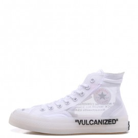Off-White x Converse The Ten Chuck 70 Transparent High White