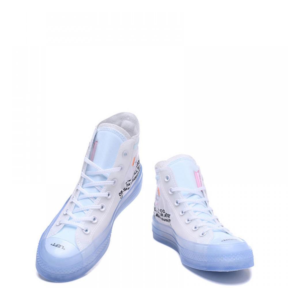 chaussure converse transparente