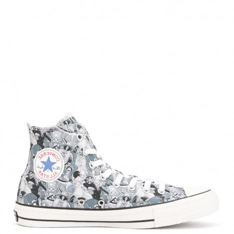 One Piece x Converse All Star 100th Anniversary High Top Sneakers