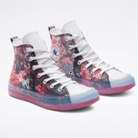 Pink Floral Converse X Shaniqwa Jarvis Chuck Taylor Cx Teaberry Unisex High Top Shoe