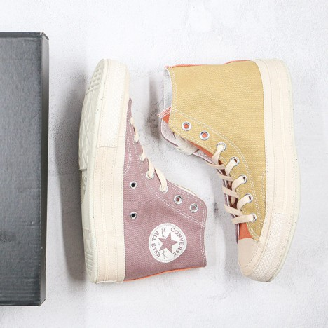 Renew Cotton Chuck 70 Prairie Sand Grey Unisex High Top Shoes
