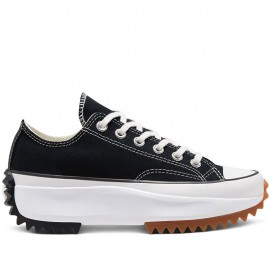 Run Star Hike Black Low Tops Sneakers