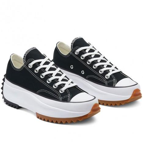 Run Star Hike Black Low Tops Sneakers