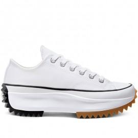 Run Star Hike White Low Tops Sneakers