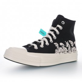 Scooby-Doo x Converse Chuck Taylor All Star 1970s Black High
