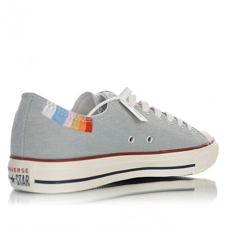 Self Expression Chuck Taylor All Star Embroidered Canvas Low-Top Sneakers