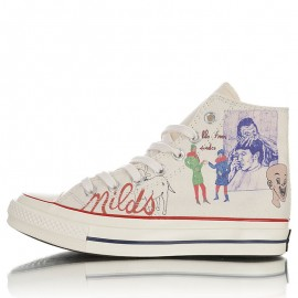 Spencer McMullen Converse Artist Series Chuck 70 High Tops Shoes