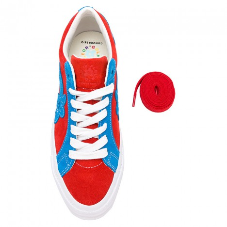 Tyler The Creator x Converse Golf Le Fleur Floral Embellished Sneakers