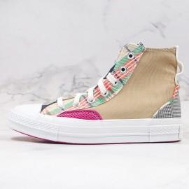 Unisex Converse Chuck 70 High Hacked Fashion Nomad Khaki Shoes